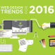 Web design trends 2016